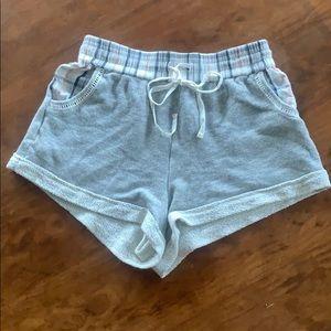 Anthropologie jersey shorts